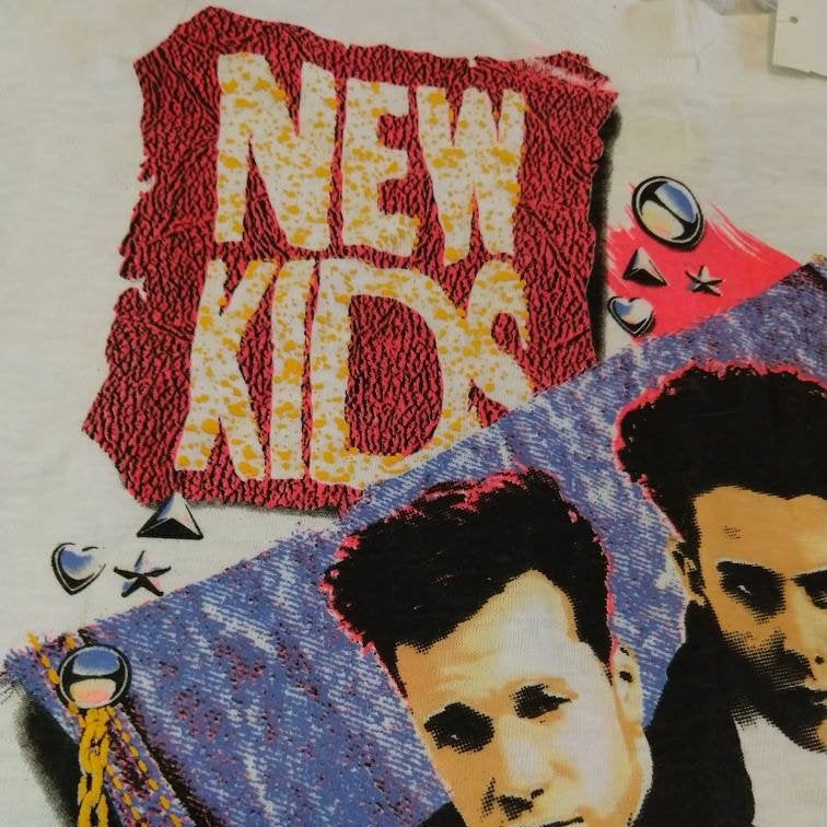 NEW KIDS on the block NKOTB 1990 tee t-shirt