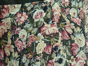 1990's EXPRESS FLORAL MAXI skirt bias cut ditsy floral xs (D6)