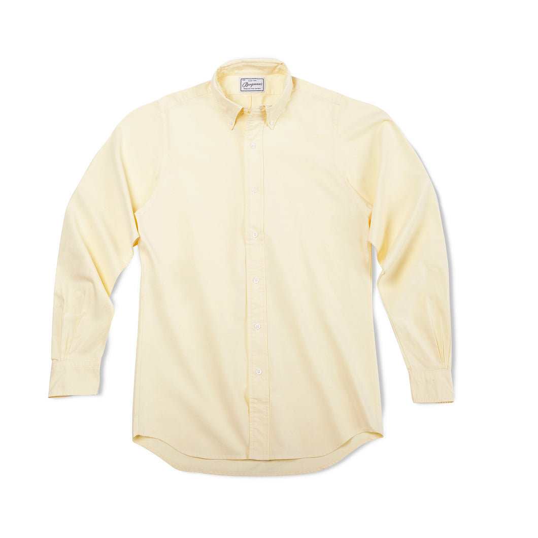 Yellow Button Down Oxford Shirt