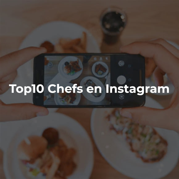 Top 10 Chefs en Instagram