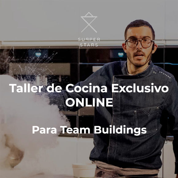 Team Building de cocina online con SupperStars