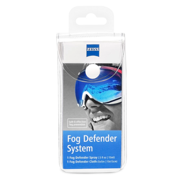 Zeiss Anti-Fog Defender Kit 0.5 OZ. Spray and Cleaning Cloth