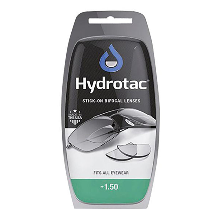 Hydrotac Stick-On Bifocal Lenses +1.50
