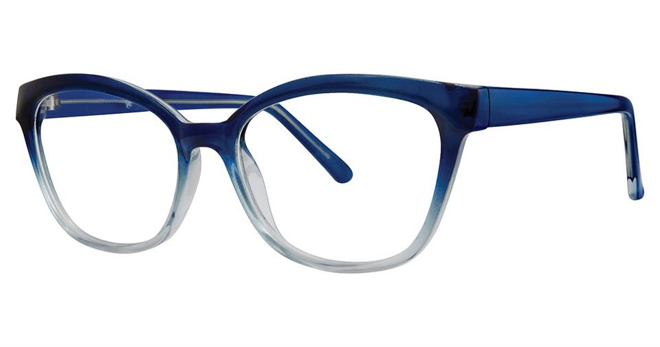 Blue Light Block Eyeglasses - SOHO 1039 Demi Blue Fade