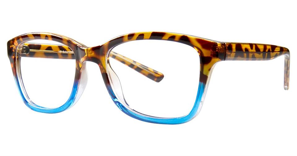 Blue Light Block Eyeglasses - SOHO 1030 Tortoise Blue