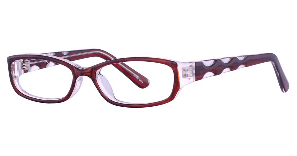 Blue Light Block Eyeglasses - SOHO 0103 Brown