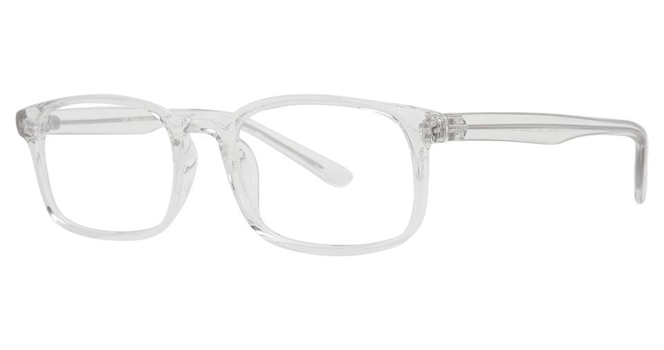 Blue Light Block Eyeglasses - SOHO 1037 Crystal