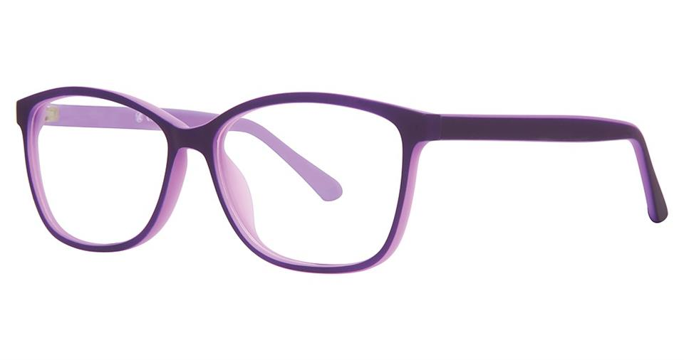 Blue Light Block Eyeglasses - SOHO 1044 Purple and Light Purple