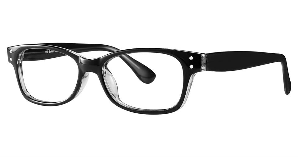 Blue Light Block Eyeglasses - SOHO 1016 Black Crystal