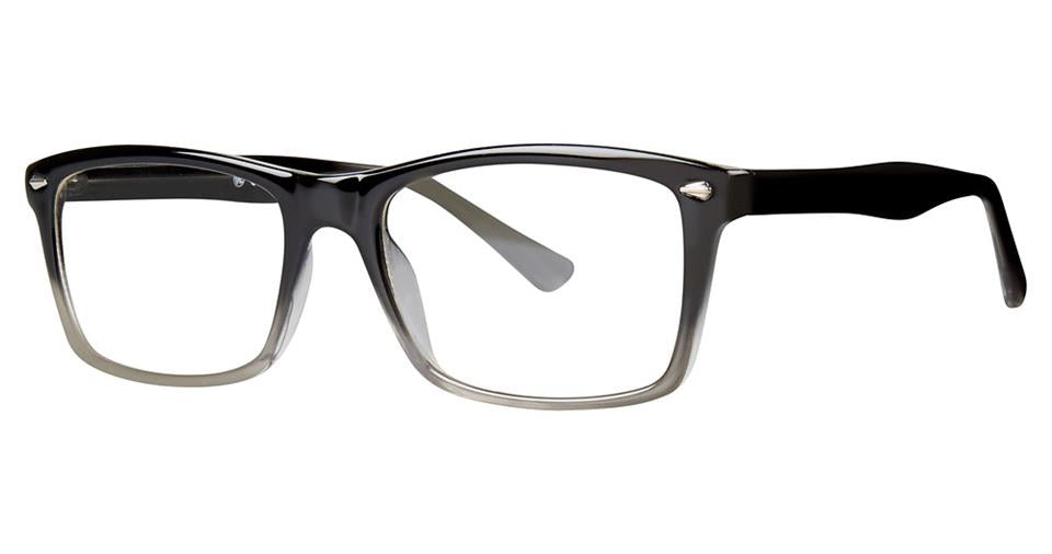 Blue Light Block Eyeglasses - SOHO 1024 Black