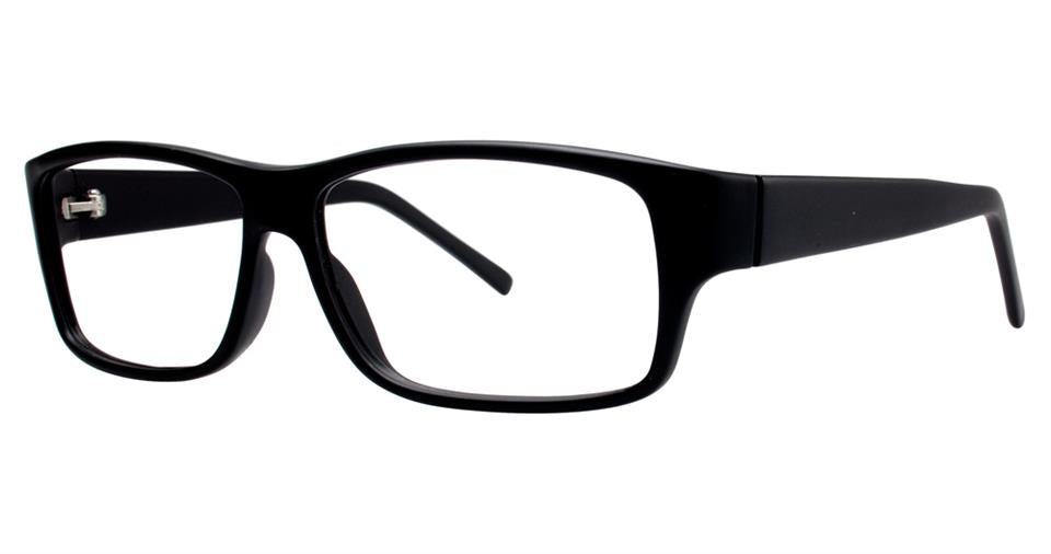 Blue Light Block Eyeglasses - SOHO 1002 Matt Black