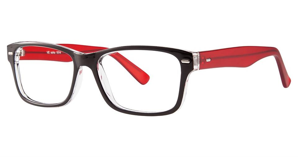 SOHO 1014 Black Crystal with Red Temples