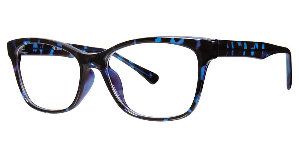 Blue Light Block Eyeglasses - SOHO 1041 Demi Blue
