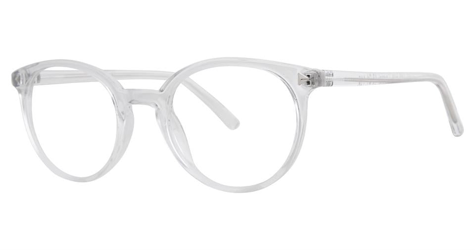 Blue Light Block Eyeglasses - SOHO 0134 Crystal