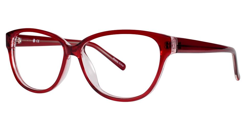 Blue Light Block Eyeglasses - SOHO 0126 Wine Crystal