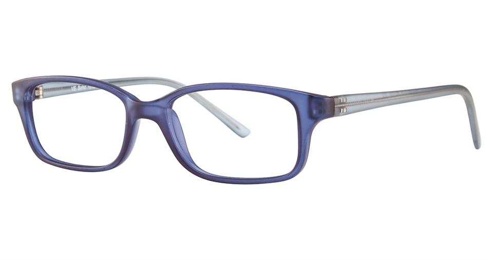 Blue Light Block Eyeglasses - SOHO 1012 Light Blue