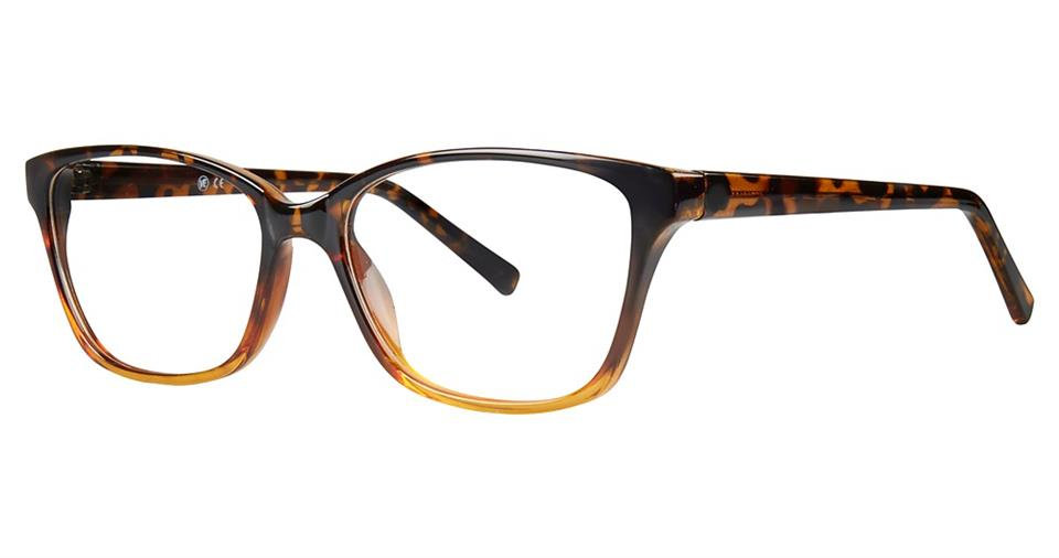 Blue Light Block Eyeglasses - SOHO 0127 Brown Demi
