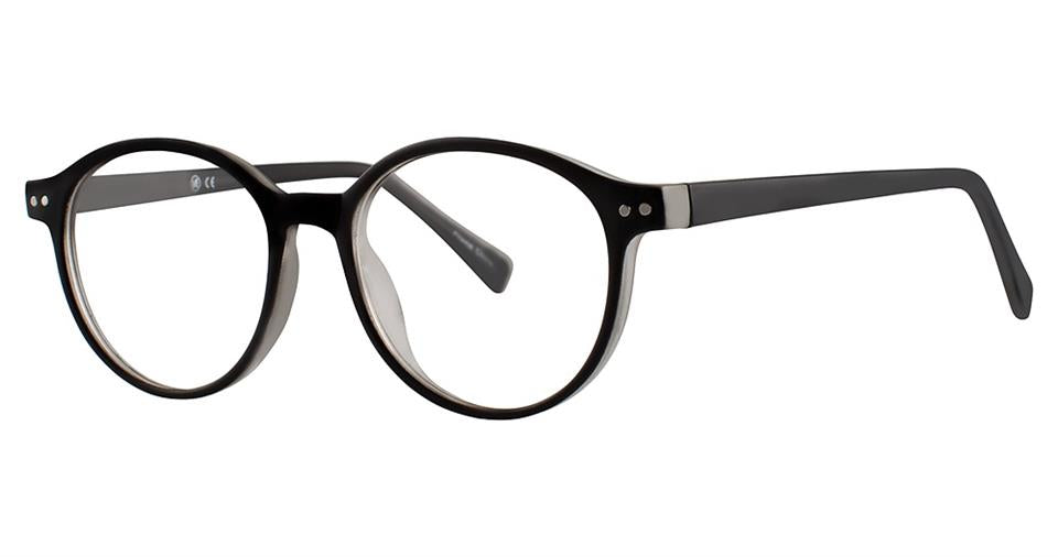 Blue Light Block Eyeglasses - SOHO 1025 Matt Black Crystal