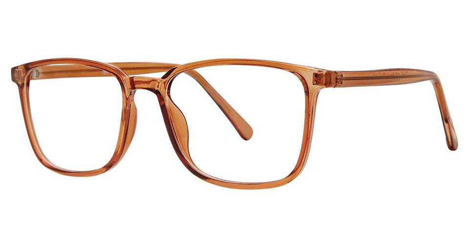 Blue Light Block Eyeglasses - SOHO 0135 Brown