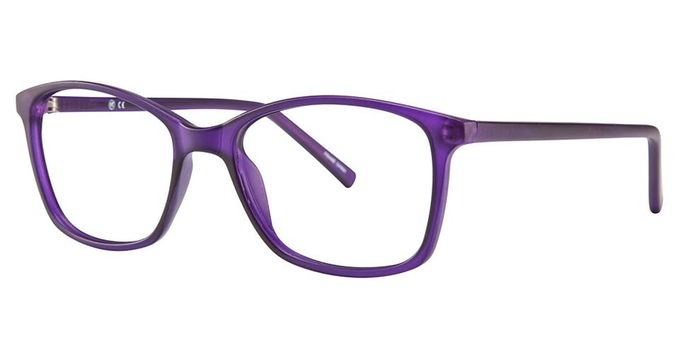 Blue Light Block Eyeglasses - SOHO 0125 Matt Purple