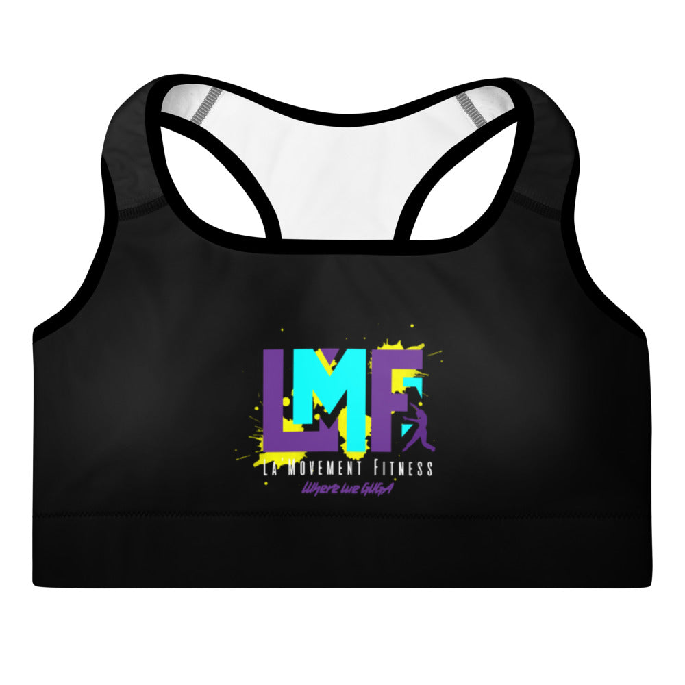 LMF Signature Padded Sports Bra