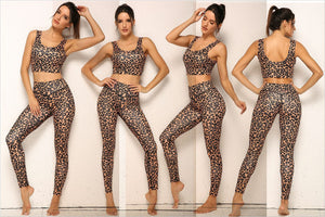 Leopard Activewear Set