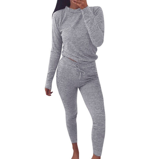 Pullover Top & Lounge Pants Set