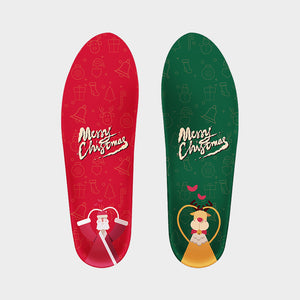 Senthmetic Cork Orthotics Insoles Gift for Chrismas Day Arch Support Shoe Inserts