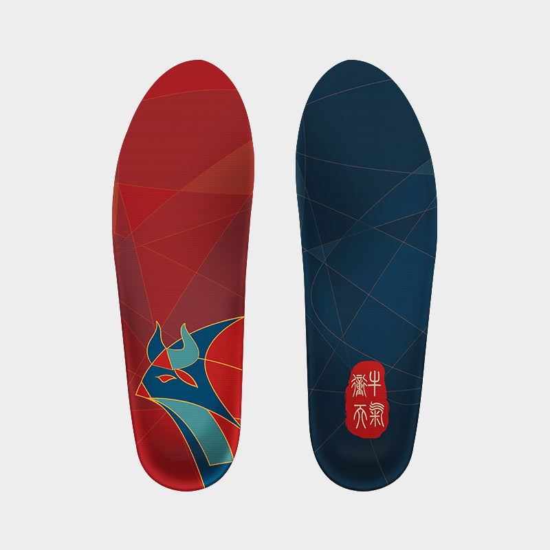 Senthmetic Cork Arch Support Insoles Gift for Chinese New Year