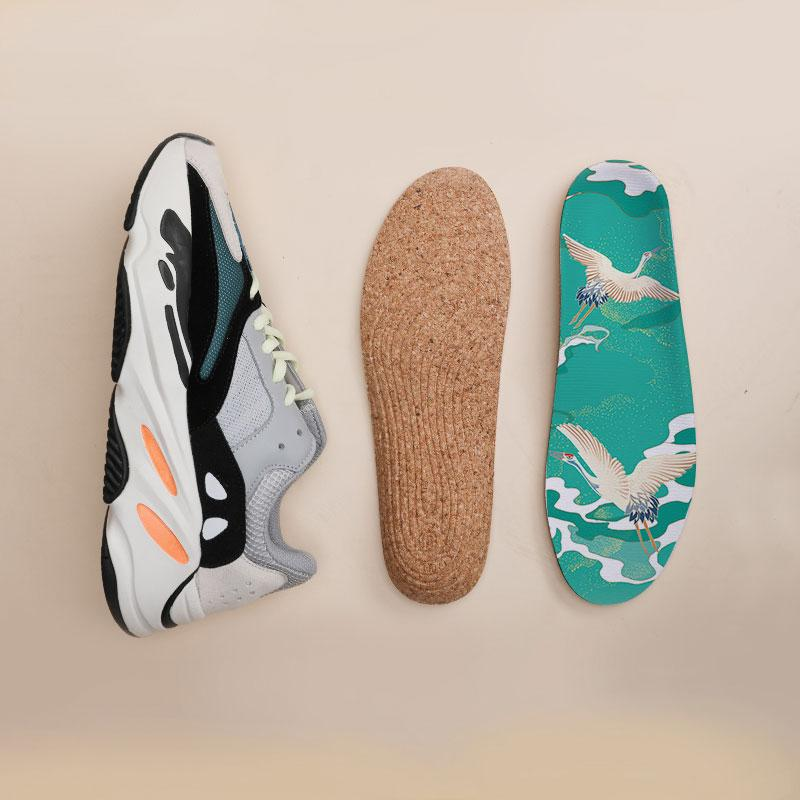 Load image into Gallery viewer, Senthmetic Arch Support Cork Insole-Absorb Sweat, Deodorize, Dry and Clean - Senthmetic