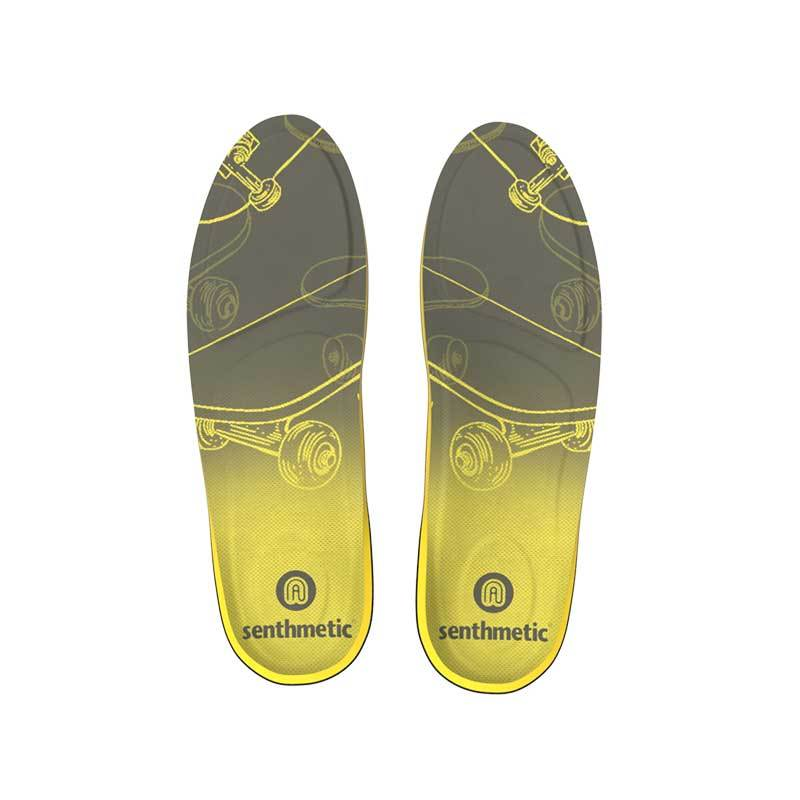 Senthmetic 3 Minutes Quickly Custom Arch Support Insole - Skateboard - Senthmetic