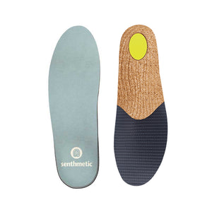 Senthmetic Men's Business Shoes Inserts Quickly Custom Insoles - Comfortable, Sweat-absorbing, Breathable