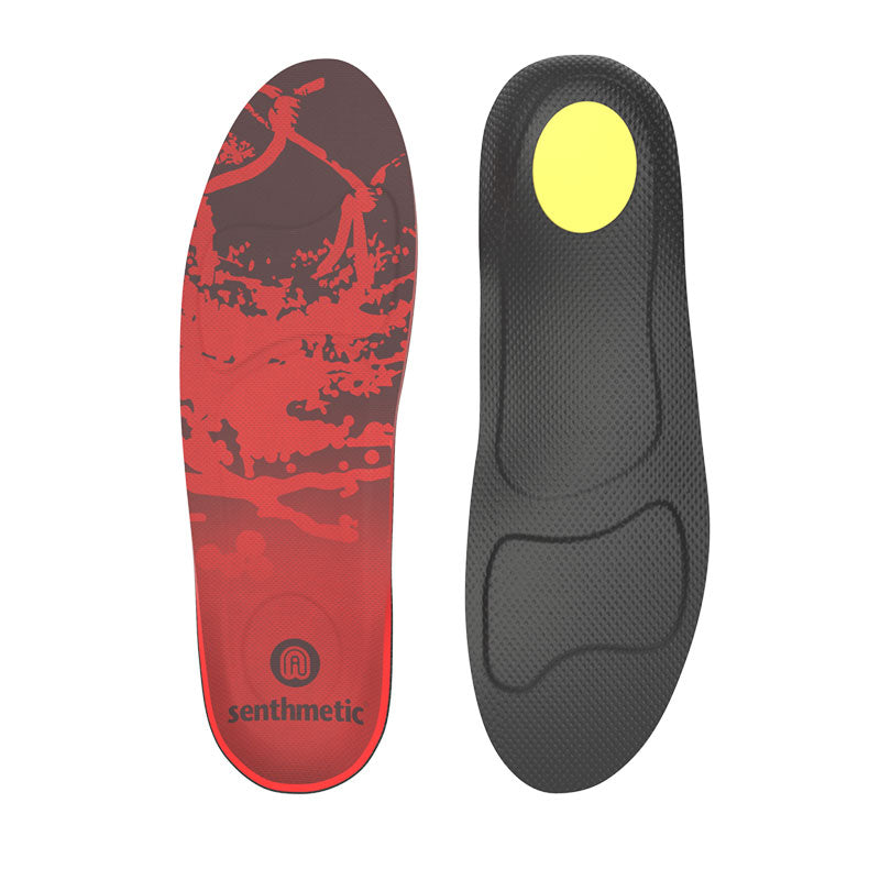 Senthmetic Arch Support Insoles for Flat Feet Running Marathon Jogging - 3 Min Quickly Custom
