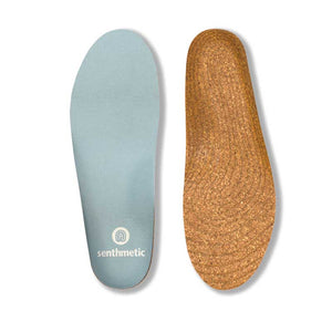 Senthmetic Cork Arch Support Insole - Absorb Sweat, Deodorize