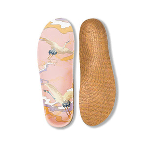 Senthmetic Arch Support Cork Insole-Absorb Sweat, Deodorize, Dry and Clean