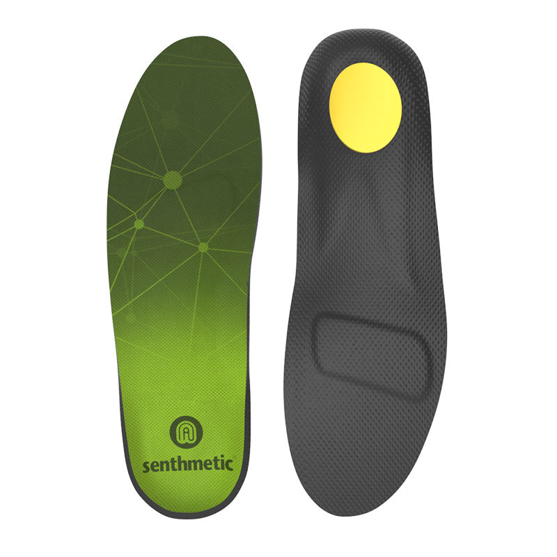 Senthmetic Football Boot Insoles Custom Arch Support Orthotic Insoles - 3 Min Quickly Custom