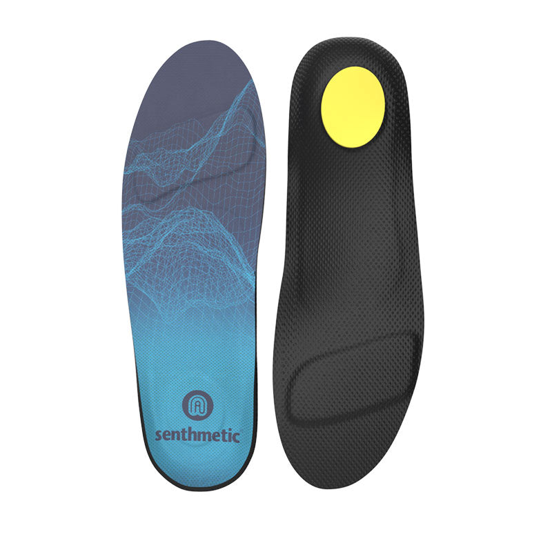 Senthmetic Custom Ski Boot Insoles Snowboarding Orthotics Footbeds - 3 Min Quickly Custom