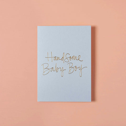 Handsome Baby Boy Card