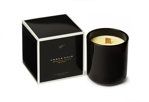 Amber Noir Large Candle