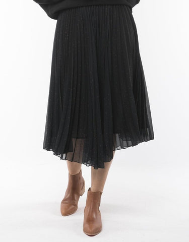 Ruby Pleated Middy Skirt