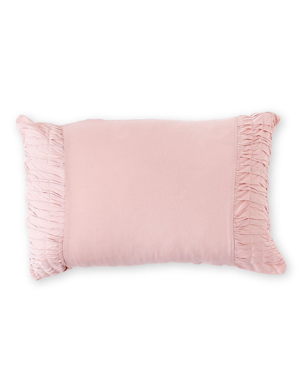 Rosette Pillowcase || Tuscan Pink