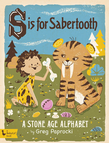 S Is For Sabertooth // Kid's Book