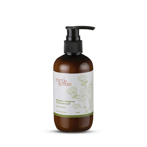 Myrtle + Moss || Bergamot Lotion 250ml