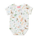 Outback Dreamers Short Sleeve Body Suit