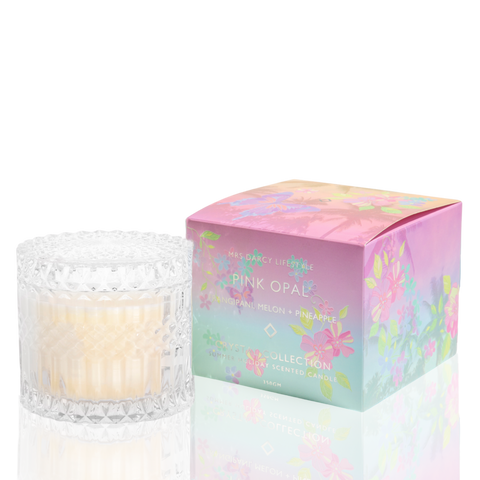 Pink Opal Candle