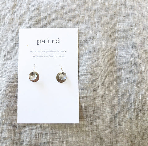 Disc + Daisy Earrings