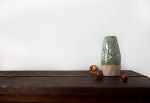 Handmade Green Vase || Small