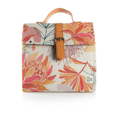 Lunch Satchel Brushed Protea
