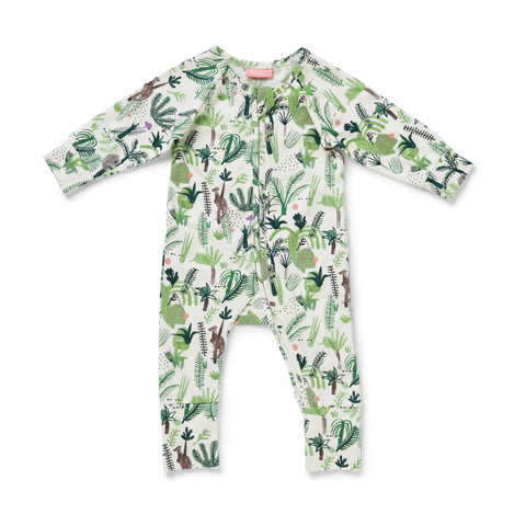 Fern Gully Long Sleeve Zip Suit