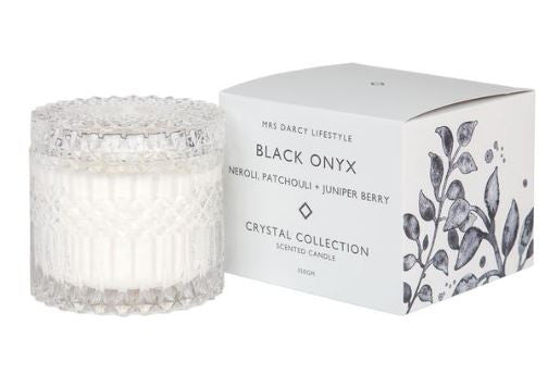 Crystal Candle Series || Black Onyx